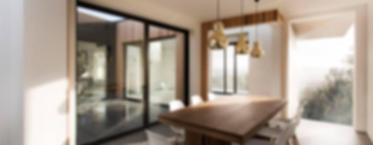 AR Design Studio- 4 Views Salas de jantar modernas por AR Design Studio Moderno