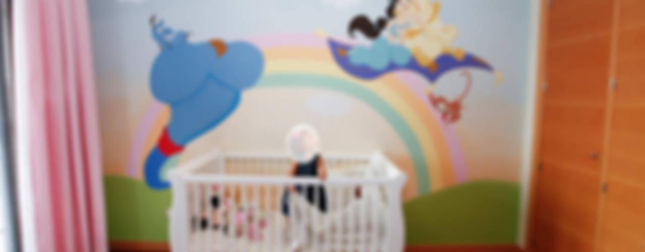 MURALES INFANTILES CON PERSONAJES DE CUENTOS MURALES MARAVILLOSOS Habitaciones de niños