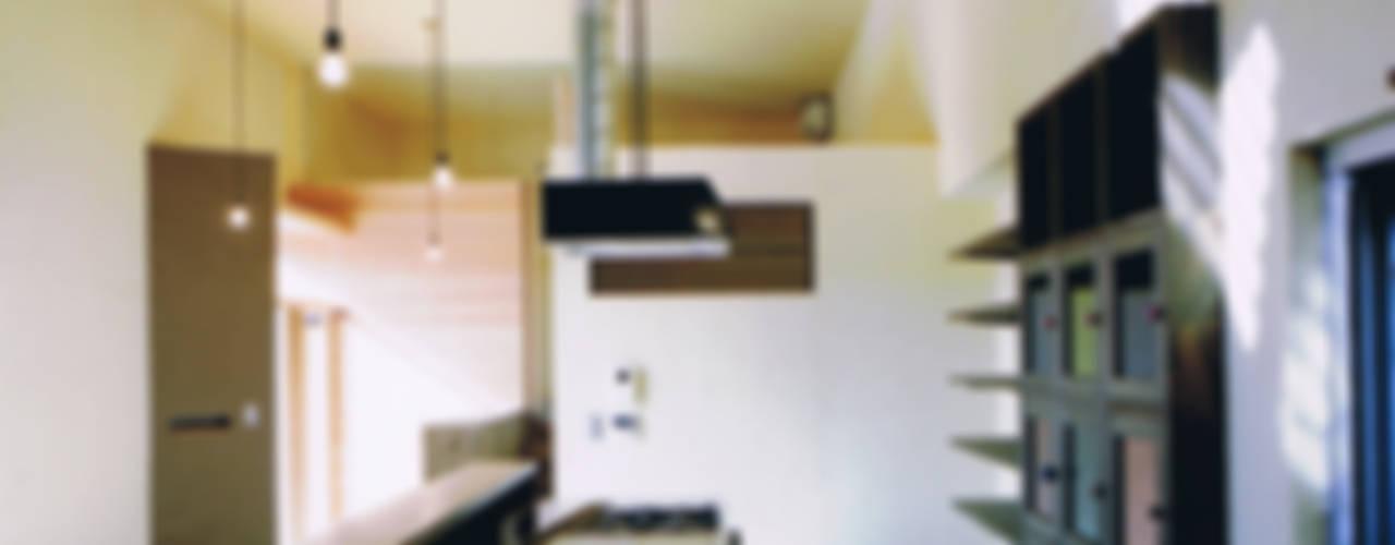 House Outsider Art オリジナルデザインの キッチン の eu建築設計 オリジナル