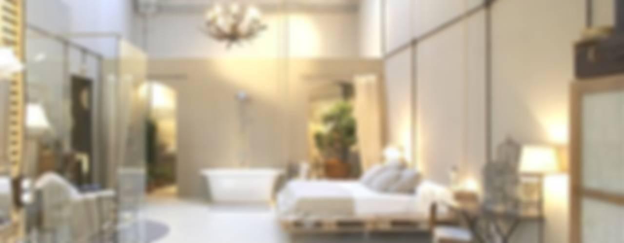 Projekty,  Sypialnia zaprojektowane przez BARASONA Diseño y Comunicacion,