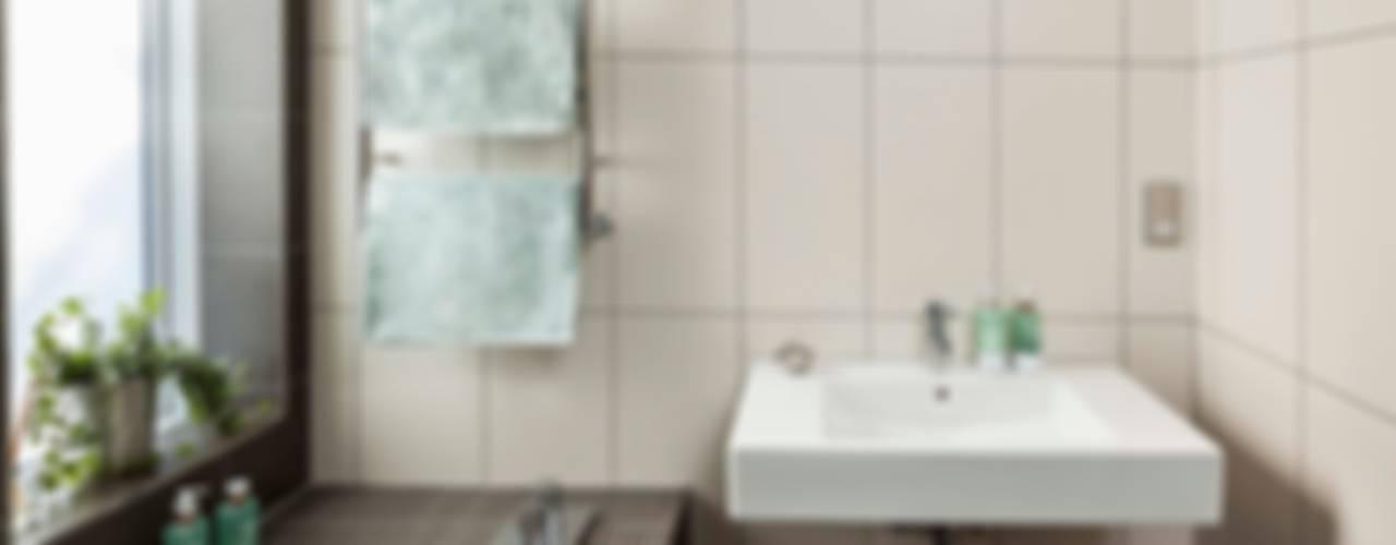 Courtyard House - East Dulwich Modern bathroom by Designcubed Modern
