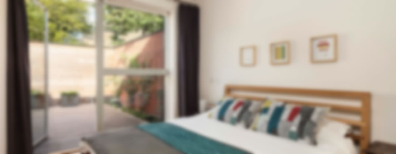 Courtyard House - East Dulwich Modern Yatak Odası Designcubed Modern