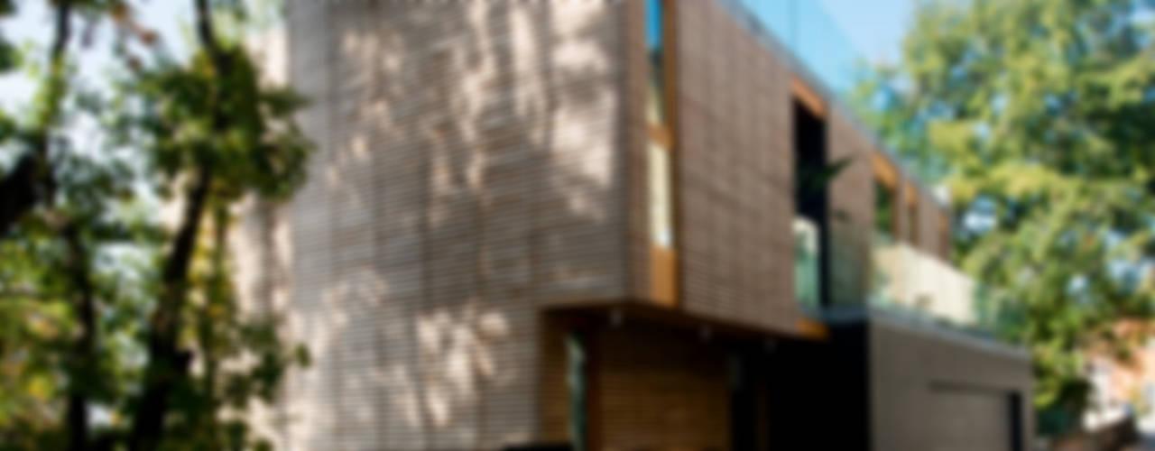 casa binocolo di fabio ferrini architetto Moderno