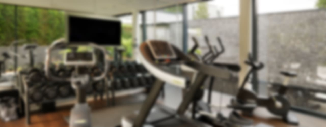 Berkshire Modern gym by Gregory Phillips Architects Modern