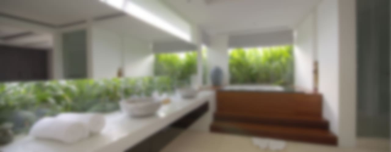 아시아스타일 욕실 by homify 한옥