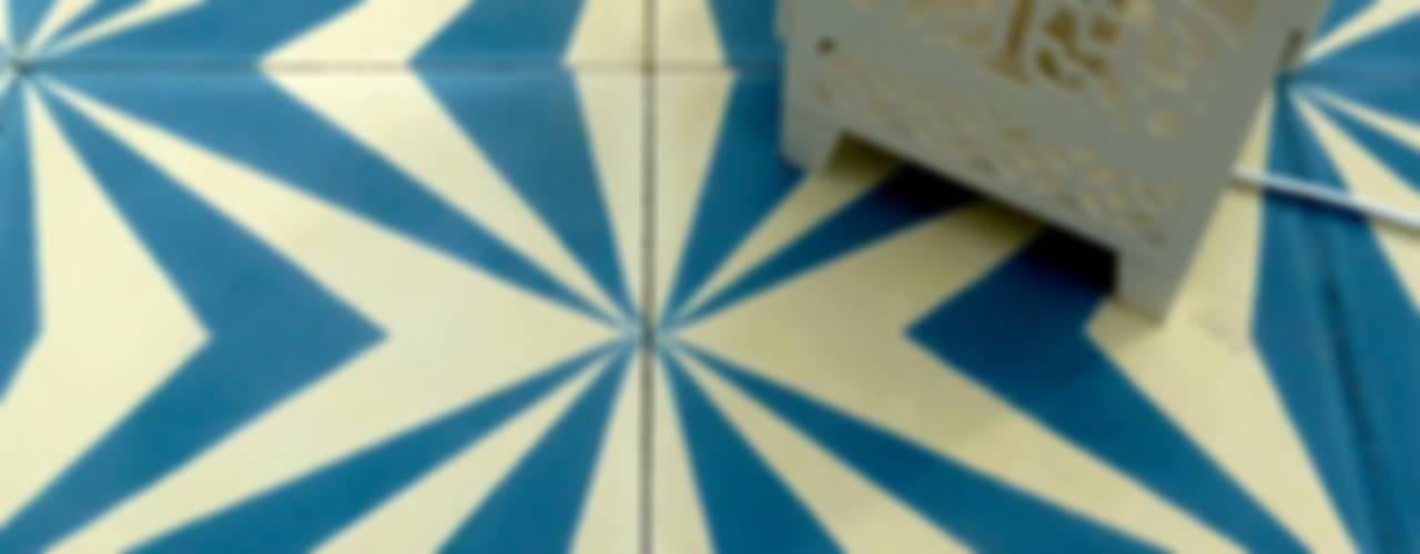 Neo cement tile de Maria Starling Design Mediterráneo