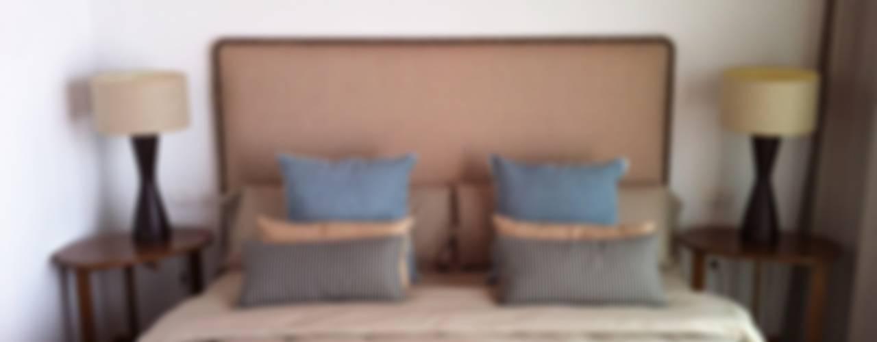 Decoración villa Dormitorios de estilo mediterráneo de Tatiana Doria, Diseño de interiores Mediterráneo