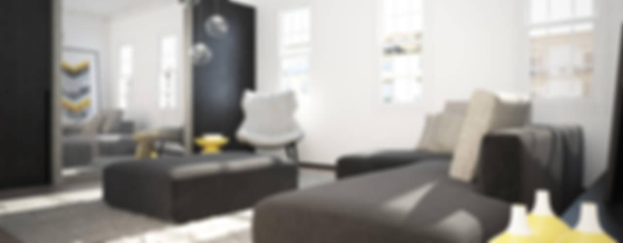 Shoreditch Apartment Гостиная в стиле модерн от YAM Studios Модерн