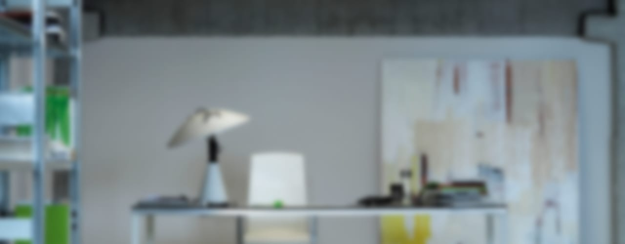 Home Office:  de estilo industrial de AKABA S.A., Industrial