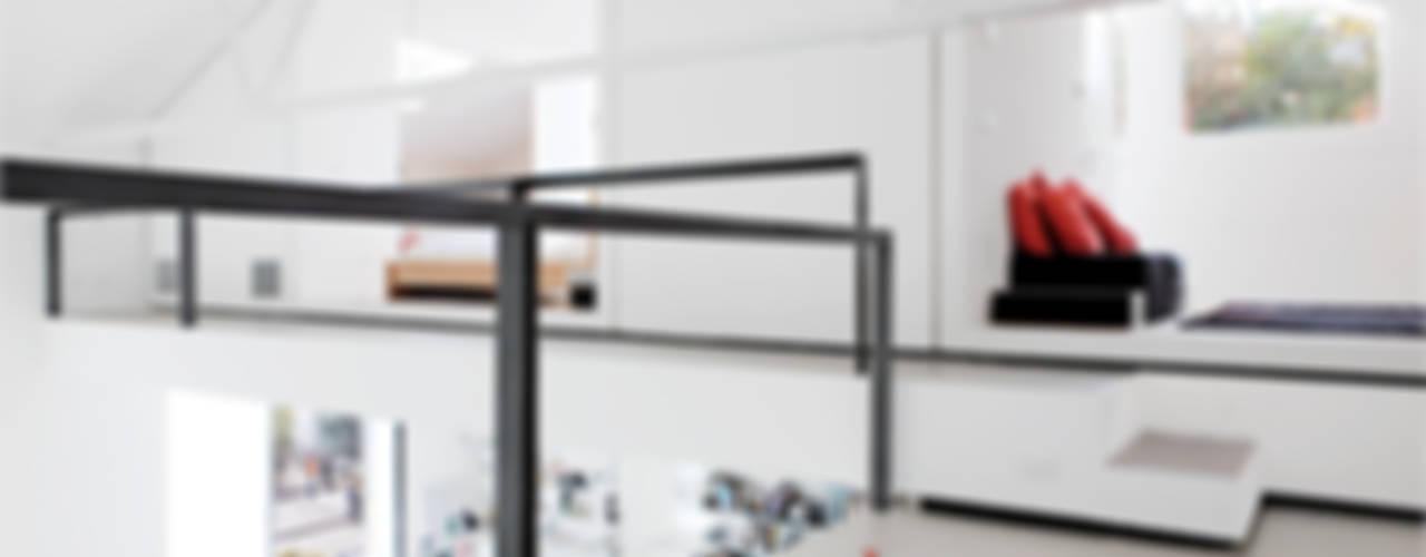 4 amici | 4 lofts Camera da letto in stile industriale di roberto murgia architetto Industrial