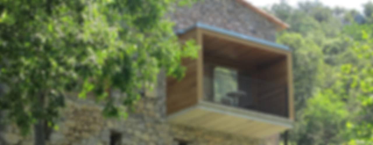 poner título nuevo aqui Casas de estilo rural de Arcadi Pla i Masmiquel Arquitecte Rural