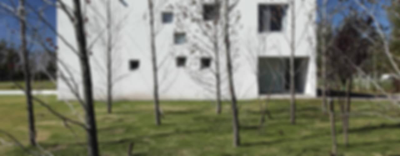 Projekty,  Domy zaprojektowane przez estudio aire, Minimalistyczny