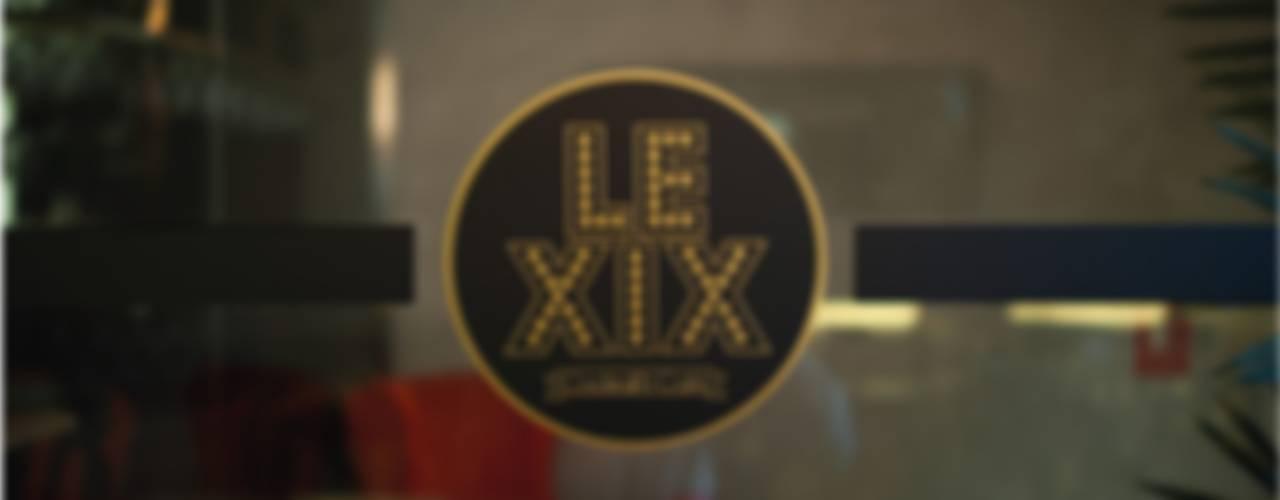 Le XIX Bodegas de estilo industrial de LabMatic Estudio Industrial