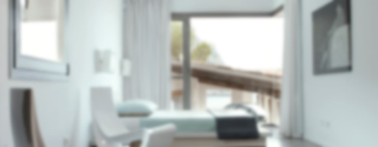 Casa en Andratx Dormitorios de estilo minimalista de Octavio Mestre Arquitectos Minimalista