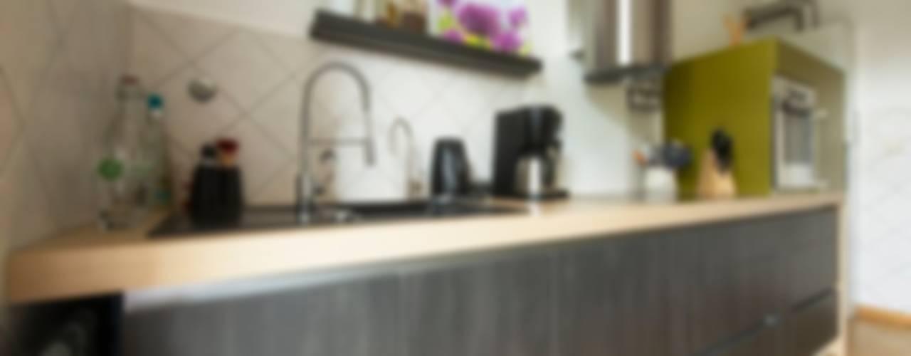 Cocinas de estilo moderno de tRÄUME - Ideen Raum geben Moderno