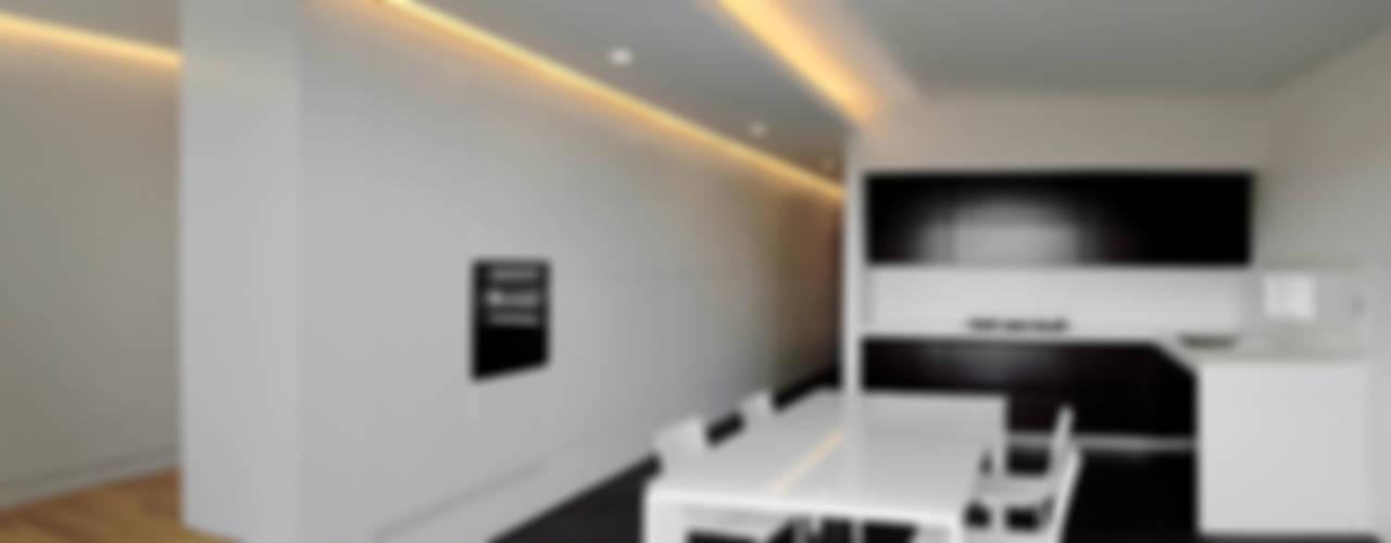 casa m Cucina moderna di morana+rao architetti Moderno