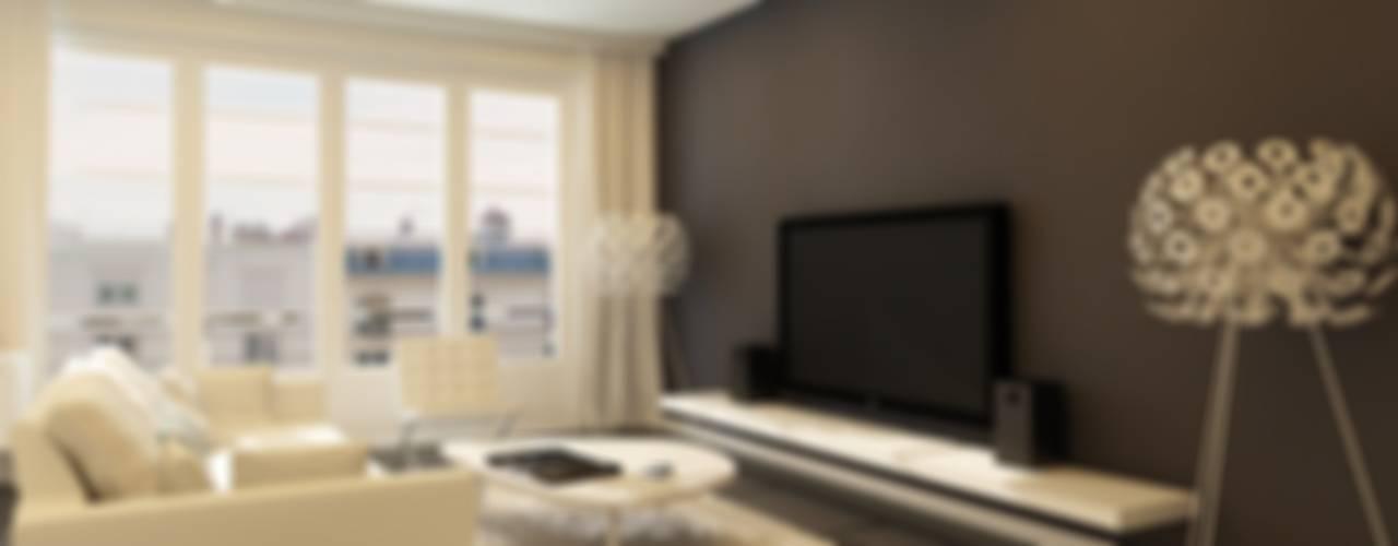 Salas de estilo  por GR8DESIGN