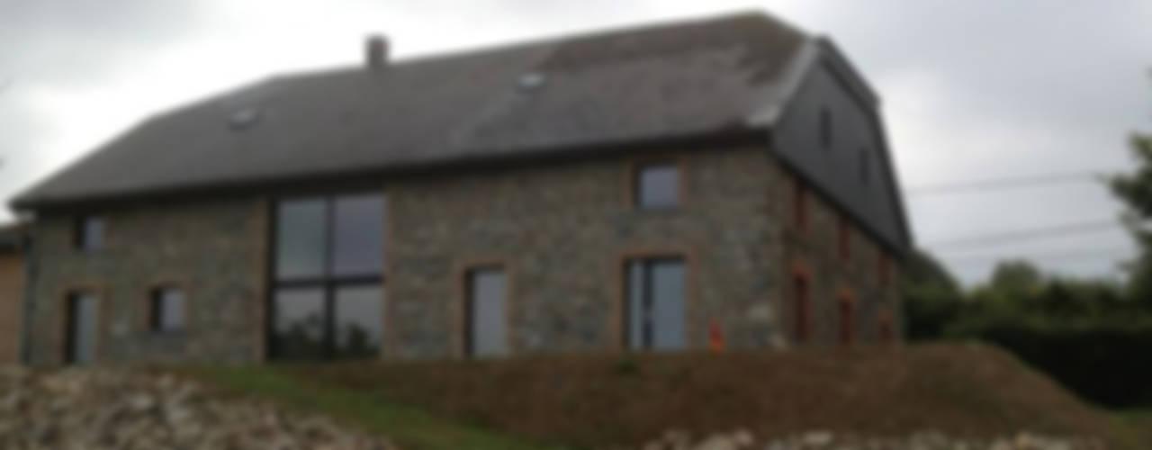 Maisons de style de stile Rural par D. M. Alferink architect