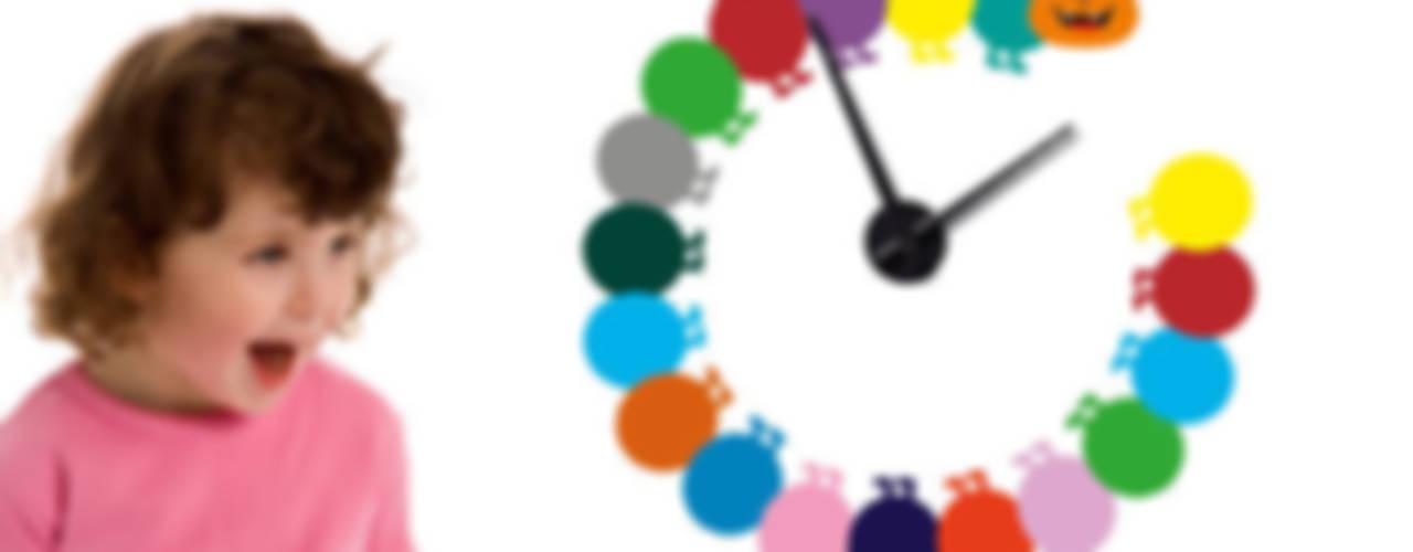 Wandtattoo - Uhren K&L Wall Art KinderzimmerAccessoires und Dekoration