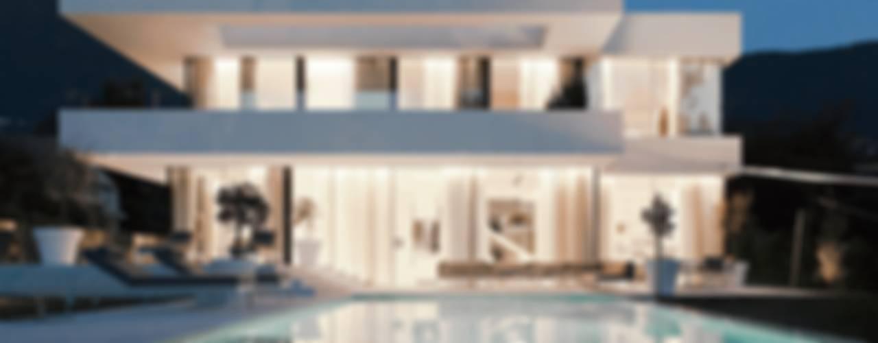 Piscinas modernas por monovolume architecture + design Moderno