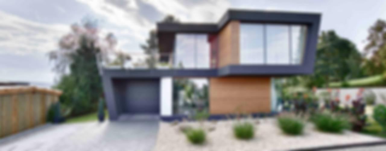 Haus W in Rottenburg Moderne Häuser von m3 architekten Modern