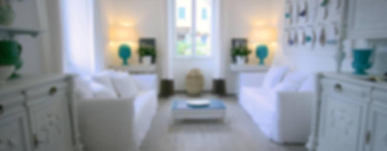 LUXURY GUEST HOUSE CA' DE TOBIA (NOLI - SV) Soggiorno in stile rustico di Studio Guerra Sas Rustico