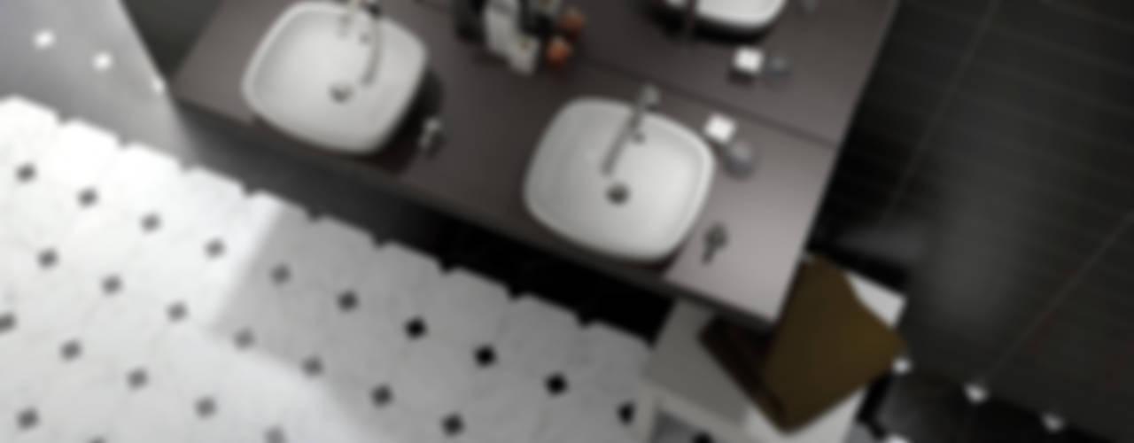 Octagon Baños de estilo clásico de Equipe Ceramicas Clásico
