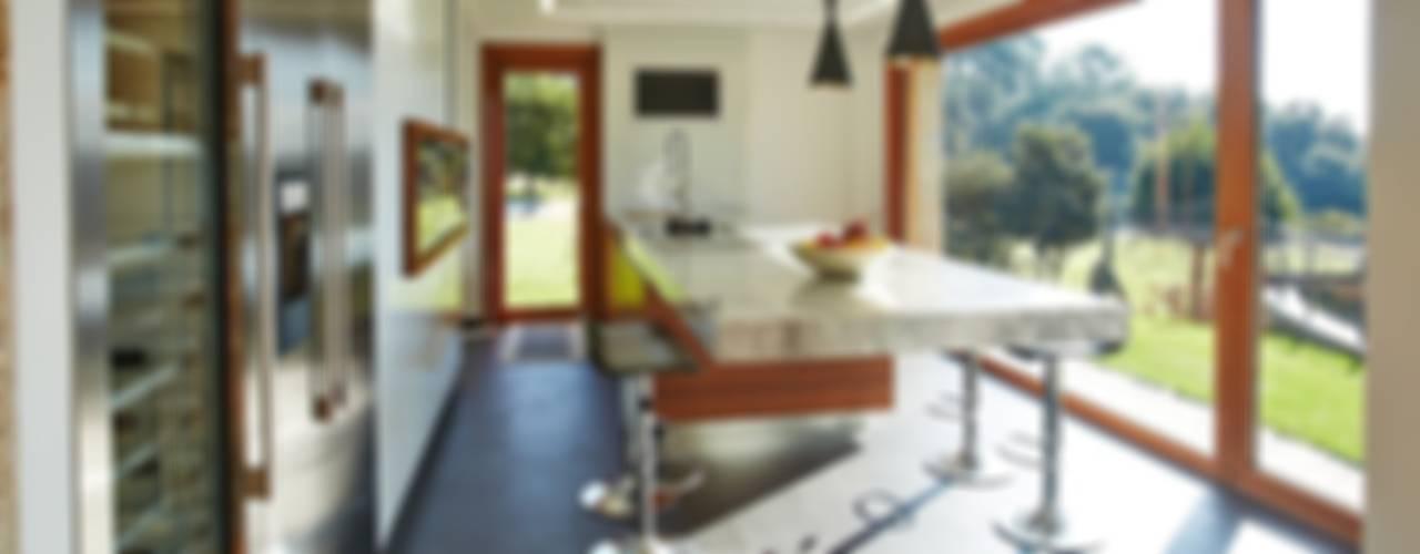 ラスティックデザインの キッチン の HUGA ARQUITECTOS ラスティック