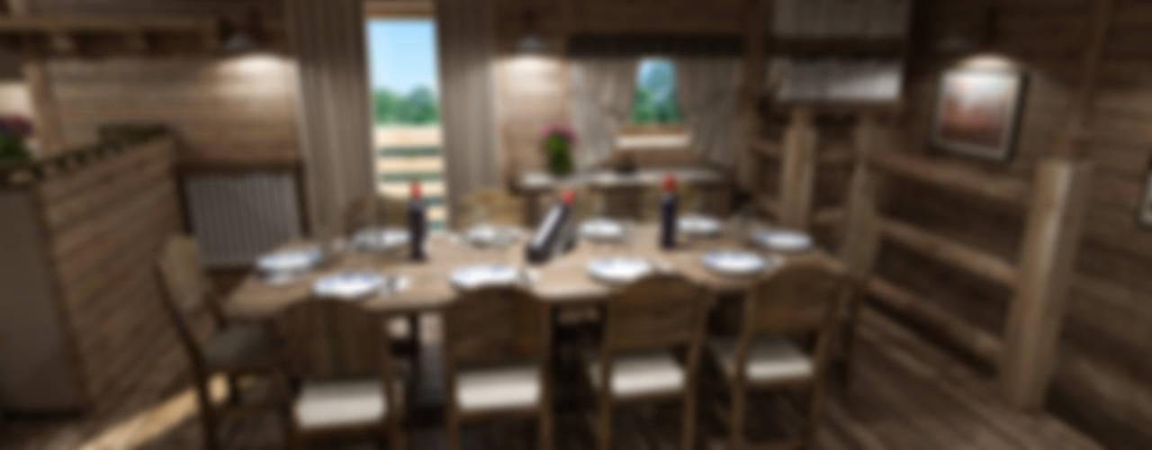 Salas de jantar rústicas por studiosagitair Rústico