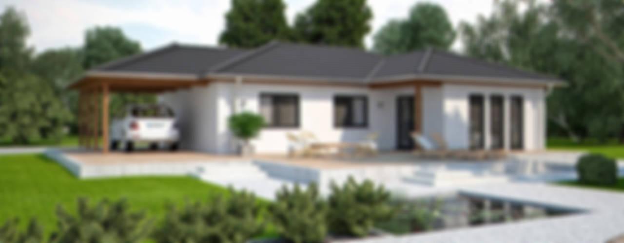 Bungalowserie Life: modern  von Bau mein Haus - eine Marke der Green Building Deutschland GmbH,Modern