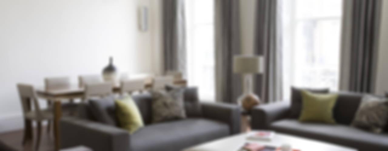 North London Moderne woonkamers van LEIVARS Modern