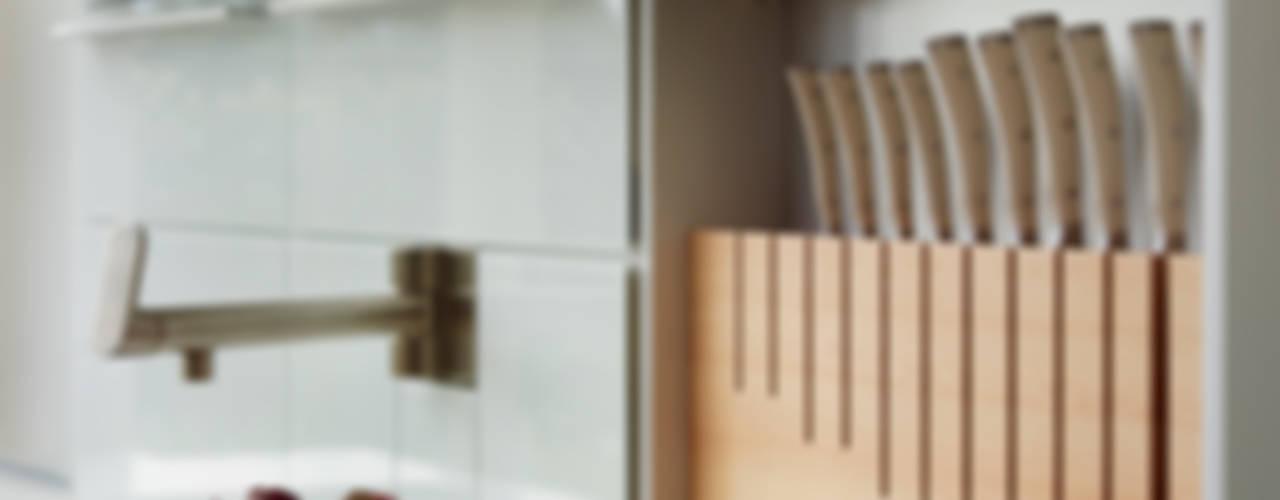 Contemporary townhouse Cuisine moderne par Kitchen Architecture Moderne