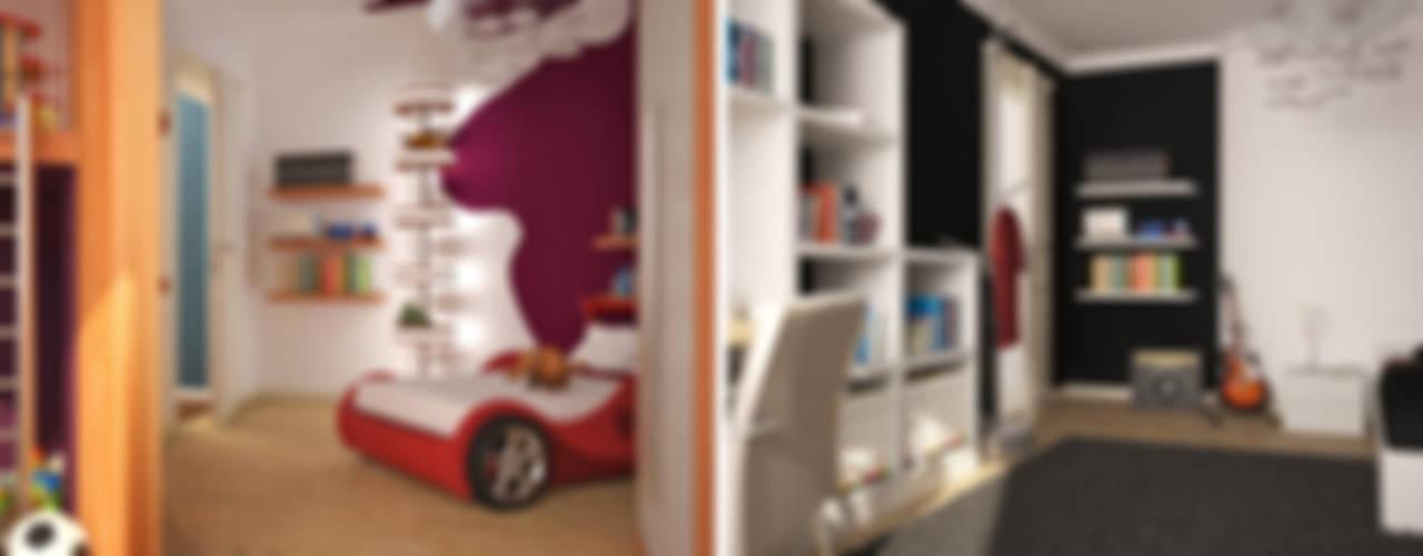 Stanza dei bambini moderna di GID│GOLDMANN-INTERIOR-DESIGN - Innenarchitekt in Sehnde Moderno