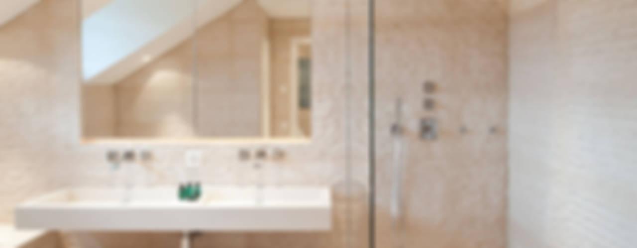 Canton De Vaud, Switzerland Rustic style bathroom by Ardesia Design Rustic