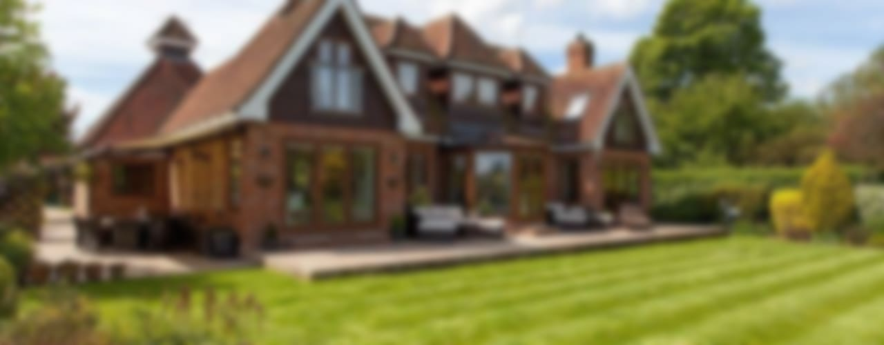 Property Renovation Marlow Eclectic style houses by Stunning Spaces Ltd Eclectic