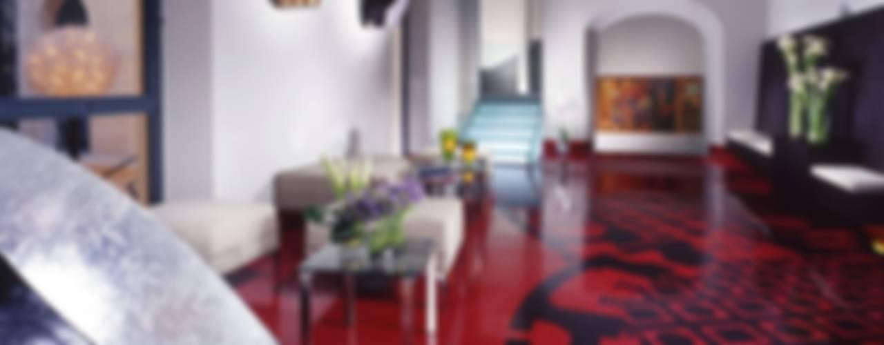 Hoteles de estilo  por laboratorio di architettura - gianfranco mangiarotti, Ecléctico