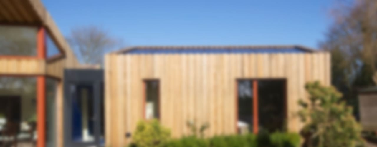 Pond House_Passive House (Passivhaus) モダンな 家 の Forrester Architects モダン