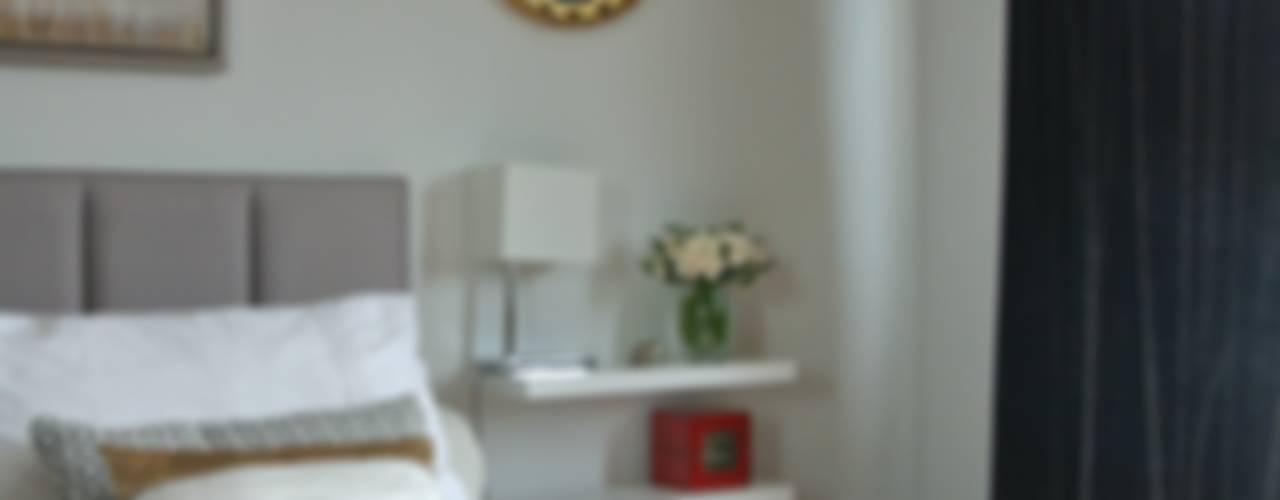 LOFT CONVERSION Modern style bedroom by STUDIO[01] LTD Modern