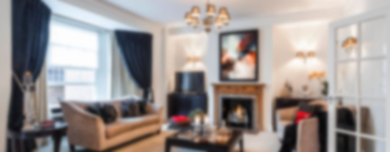 Mayfair Private Residence Classic style living room by FADI CHERRY | design studio Classic
