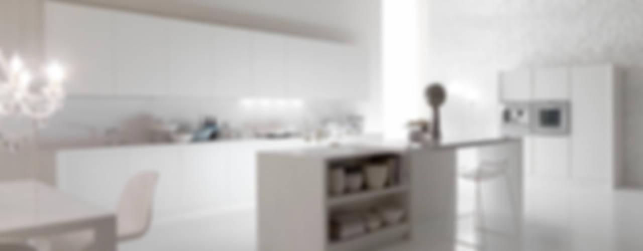 BLANC DE BLANCS di AURORA CUCINE Moderno