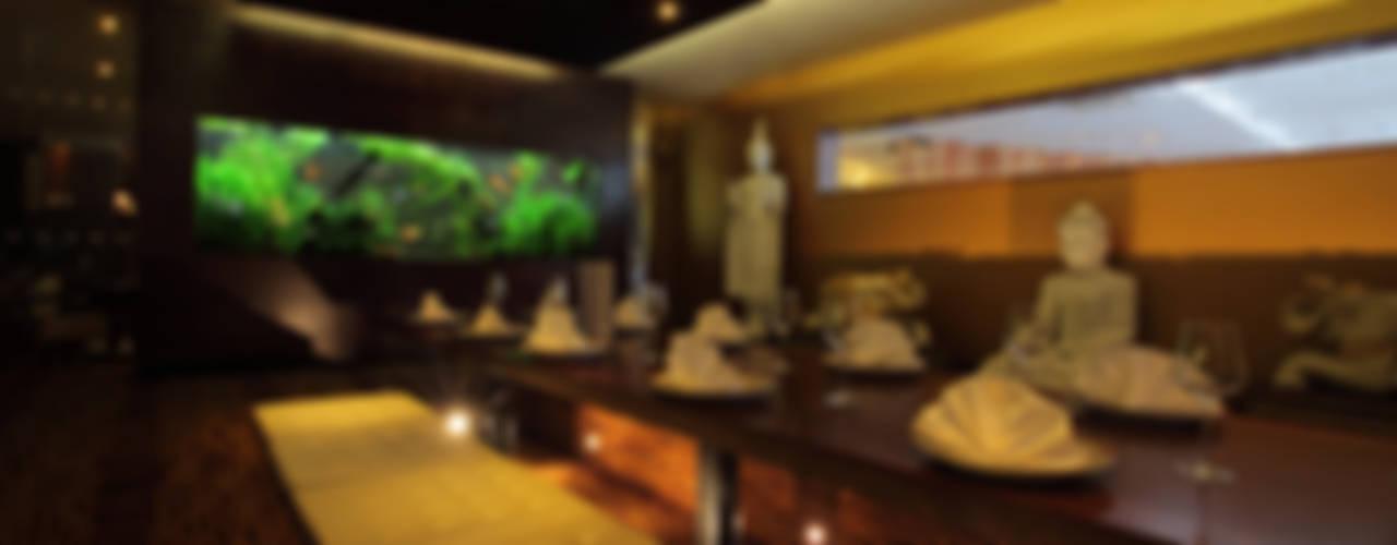 Exotic Thai Restaurant Asiatische Gastronomie von Aquarium Architecture Asiatisch