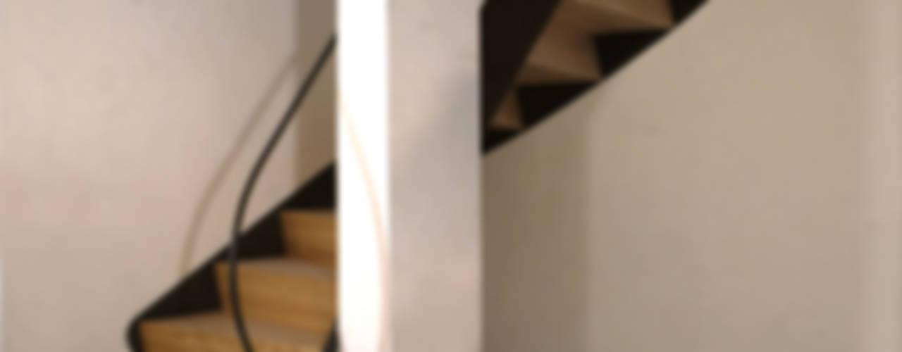 Gabriele Riesner Architektin Rustic style corridor, hallway & stairs