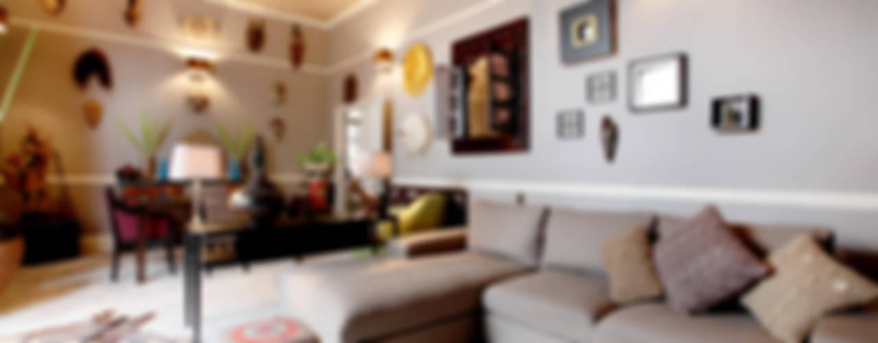 Mixing Styles Salas de estar asiáticas por Studio D. Interiors Asiático