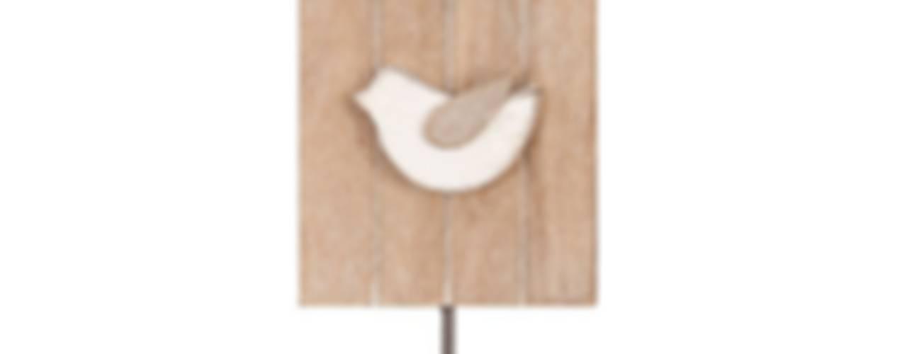 Colgadores decorativos de pared de Birdikus Rústico