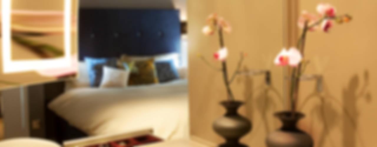 Kensington & Chelsea Eclectische slaapkamers van Matteo Bianchi Studio Eclectisch