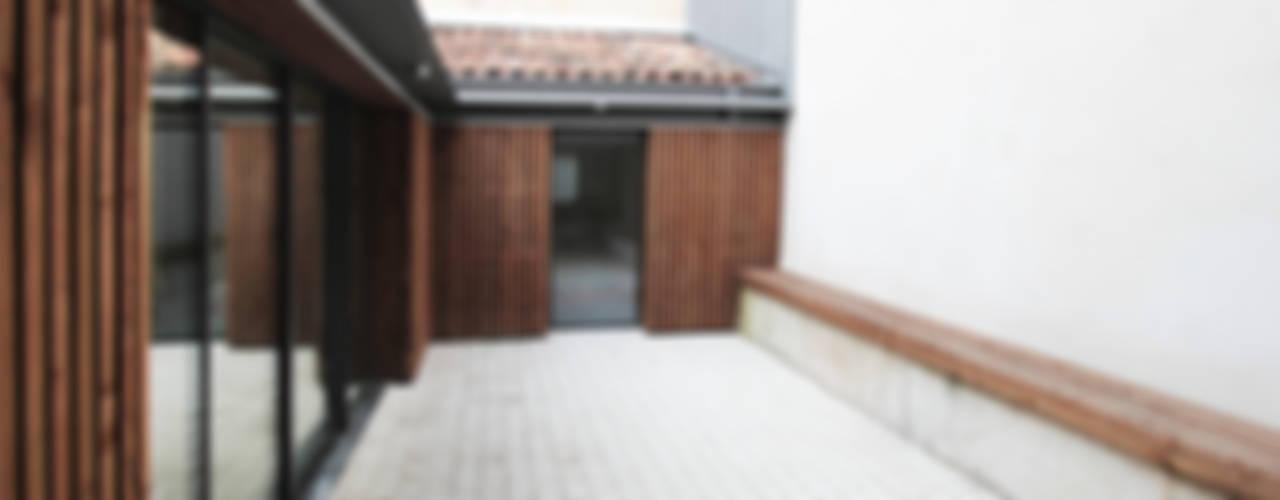 MAISON BEZIERS - BORDEAUX [33] Maisons modernes par 3759 Architecture Moderne