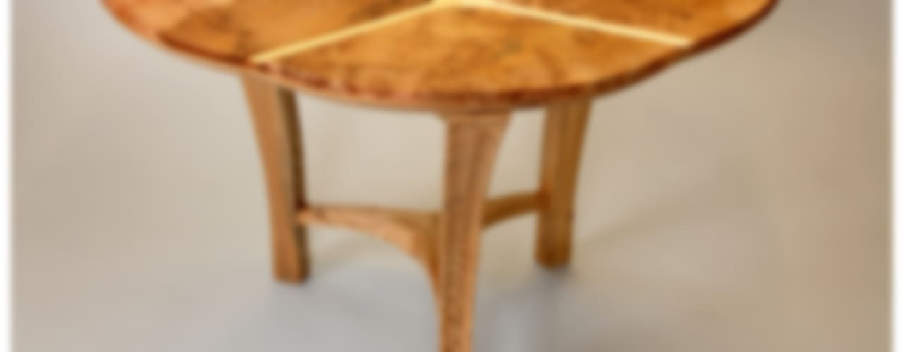 Trinity dining table Tom Cooper Fine Furniture