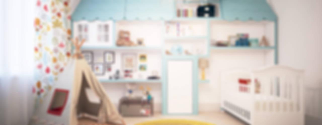 Квартира Skandi Klubb Детская комнатa в скандинавском стиле от KYD BURO Скандинавский
