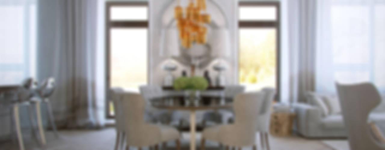 Загородный дом Wright-Park: Столовые комнаты в . Автор – KYD BURO