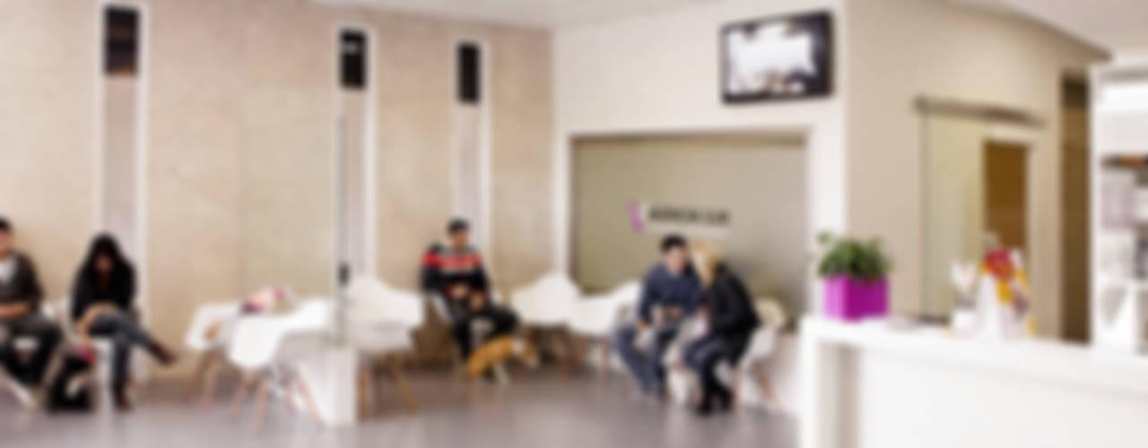 Lojas & Imóveis comerciais modernos por Coup de Grâce design & events Moderno